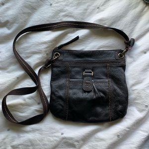 The Sak Leather Crossbody Bag